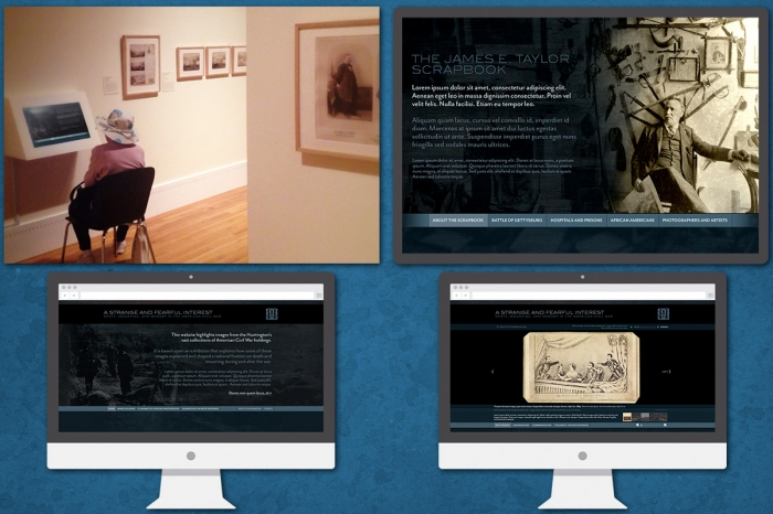 The Huntington Library: Touchscreen Installation and Web Design