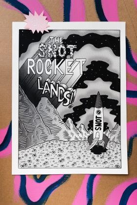 TOYSTORE- SNOT ROCKET POSTER