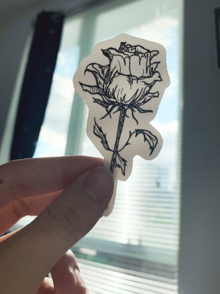 Rose Sticker 1