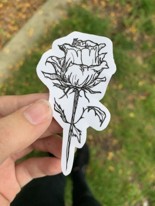 Rose Sticker 2