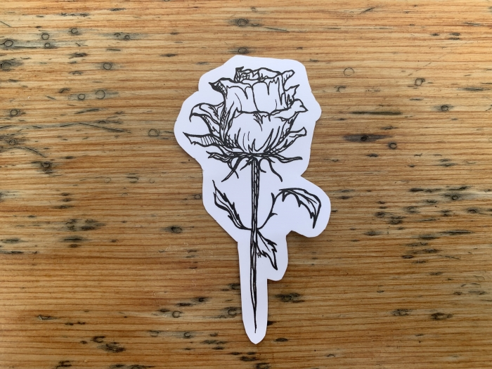 Rose Sticker 3